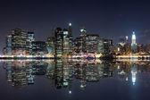 New York at night — Stock Photo