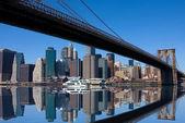 Brooklyn Bridge, New York City — Stock Photo
