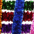 Photo: Grid-shaped tinsel