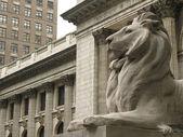 Biblioteca pública de nova york — Foto Stock