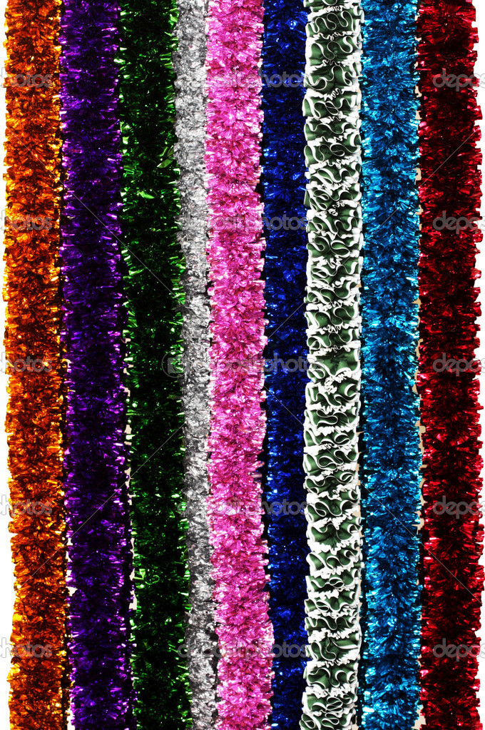 Lots of tinsel variations — Foto Stock #2547488