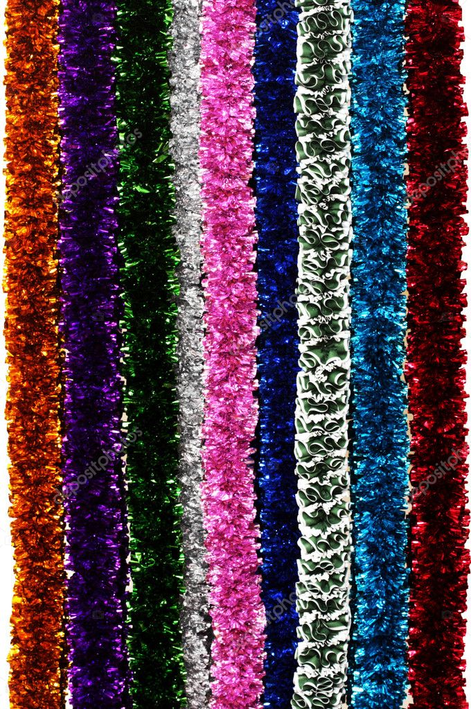 Lots of tinsel variations — Foto de Stock   #2547488