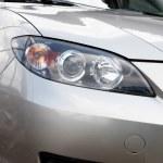 Car lights — Stock Photo