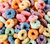 Colors cereal — Stock Photo