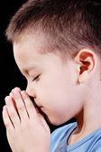 Pray boy — Stock Photo