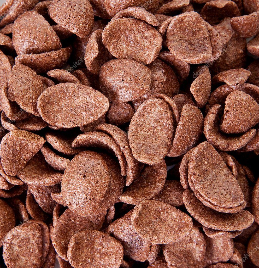 Chocolate cereal — Stock Photo © yupiramos #2406116