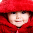 Baby in red — Stock Photo #2543315