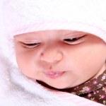 Baby face — Stock Photo
