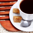 Stock Photo: Coffee cup High view