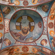 Ancient fresco in Cappadocia - Stock Photo