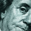 Face of One Hundred Dollar Bill — Stock Photo