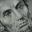 Close Up of Abe Lincoln on Money — Stock Photo #2339467
