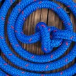 Boat Rope On the Dock — Stock Photo