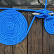 Boat Rope on Dock — Stock Photo #2344030