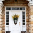 Front Entrance Door - Stock Photo