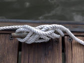 Boater's Rope — Stock Photo