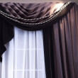 Brown Curtains — Stock Photo #2373177