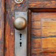 Antique Doorknob - Stock Photo