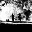 Children Running — Stockfoto
