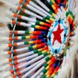 colorful native american design — Stock Photo