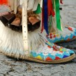 Native American Boots - Stock Photo