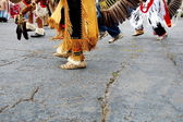 Native American Dance — Stock Photo
