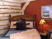 Country Bedroom Design — Stock Photo