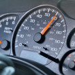 Car Speedometer — Stock Photo