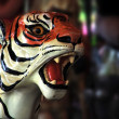 Carousel Tiger — Stock Photo
