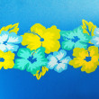 Funky Flowers Background — Stock Photo