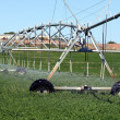 Farm Sprinkler System — Stock Photo