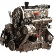 Gasoline Engine - Stock Photo