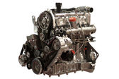 Gasoline Engine — Stock Photo