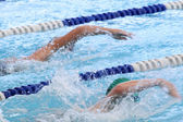 Swimming Competition — Foto Stock