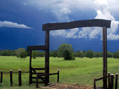 Storm Gate — Stock Photo
