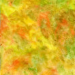Stock Photo: Handmade watercolor yellowish texture
