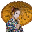 Geisha — Stock Photo