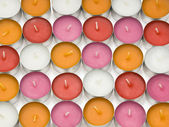 Aroma lamp candles — Stock Photo