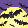 Halloween bats — Stock Vector #2278867
