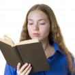 book lover — Stock Photo