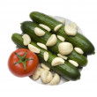 Vegetables on a plate — Stock Photo #2519211