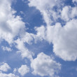 Stock Photo: Cloudy blue sky