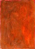 Orange handmade canvas texture — Stock Photo