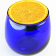 Glass of Orange — Stockfoto