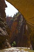 в каньоны — Стоковое фото