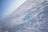 Acric Ocean from air — Stock Photo