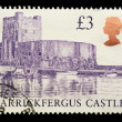 British Postage Stamp - Stock Photo