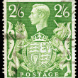 Old English Postage Stamp — Stock Photo #2272560