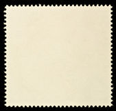Blank Postage Stamp — Stock Photo