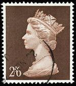 Old English Postage Stamp — Stock Photo